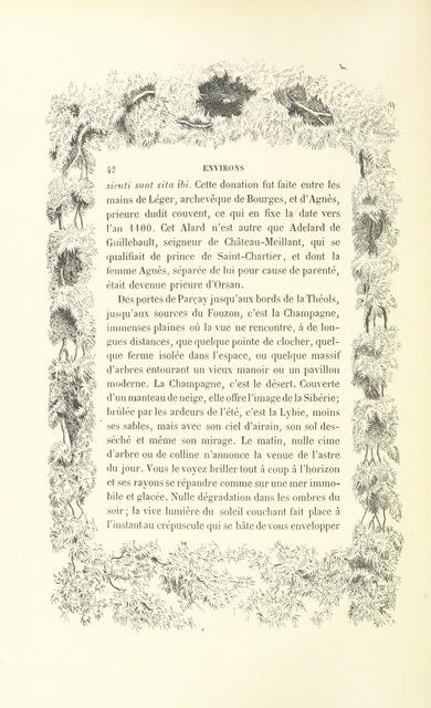"""decoration from """"Esquisses pittoresques sur le département de l'Indre. Texte par MM. De La Tramblais, De La Villegille, et J. de Vorys. Dessins par I. Meyer"""""""