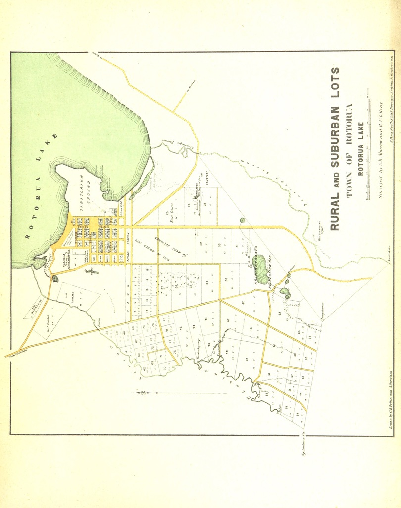 New Zealand District Map.Map From New Zealand Thermal Springs Districts Papers