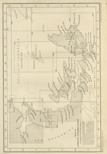 """map from """"[The St. Lawrence Pilot ... Fourth edition.]"""""""