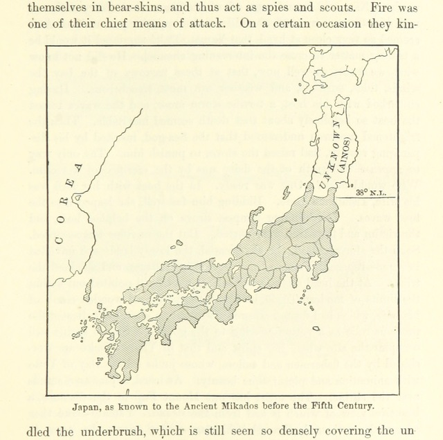 """map from """"[The Mikado's Empire, etc. (Second edition.)]"""""""