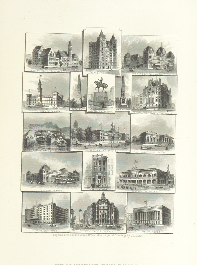 """New York City from """"History of New York City, embracing an outline sketch of events from 1609 to 1830, and a full account of its development from 1832 to 1884 ... Illustrated, etc. vol. 2"""""""