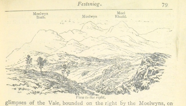 "Wales from ""The Pictorial Itinerary, an illustrated guide to the railways and coach-roads of North Wales, etc"""