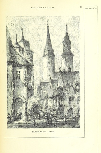 "Goslar from ""Holiday Handbooks. Practical guides to less frequented districts. Edited by P. L"""