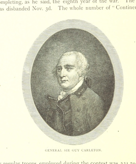 """Governor General of British North America from """"A larger history of the United States of America to the close of President Jackson's administration ... Illustrated, etc"""""""