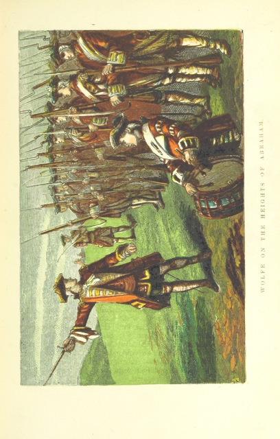 """james wolfe from """"The Great Battles of the British Army. ... With coloured illustrations. (New edition.)"""""""