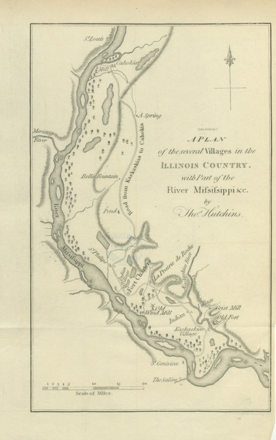 """map from """"[History of the Conspiracy of Pontiac, and the war of the North American tribes against the English Colonies after the conquest of Canada. [With introductory chapters. 1608-1769.]]"""""""