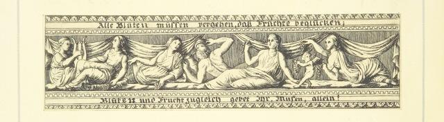 """muses from """"Goethe's Italienische Reise. Mit 318 Illustrationen ... von J. von Kahle. Eingeleitet von ... H. Düntzer"""""""