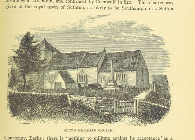 "Oxfordshire from ""Shrimpton's Popular Handbooks"""