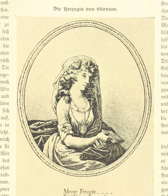 """portrait from """"Goethe's Italienische Reise. Mit 318 Illustrationen ... von J. von Kahle. Eingeleitet von ... H. Düntzer"""""""