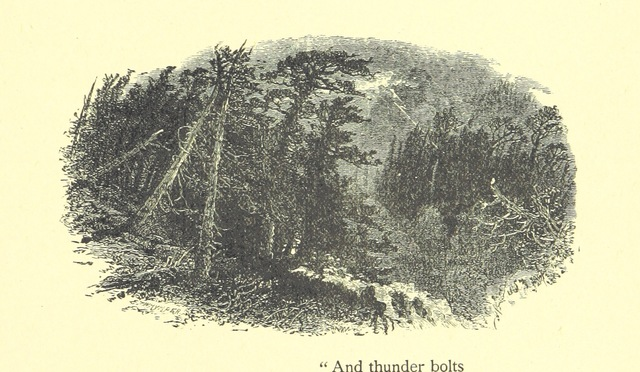 "thunderbolt from ""English Scenery. A new poem. ... Illustrated, etc"""