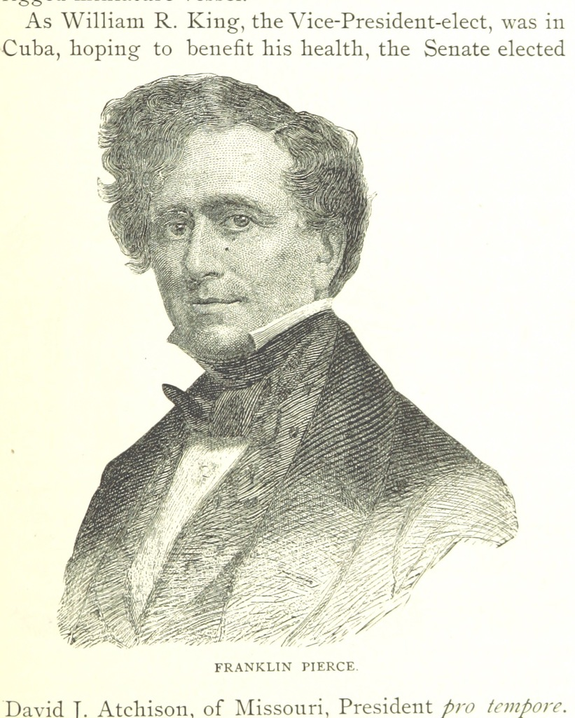 """Franklin Pierce from """"Perley's Reminiscences of sixty years in the national metropolis ... Illustrated"""""""