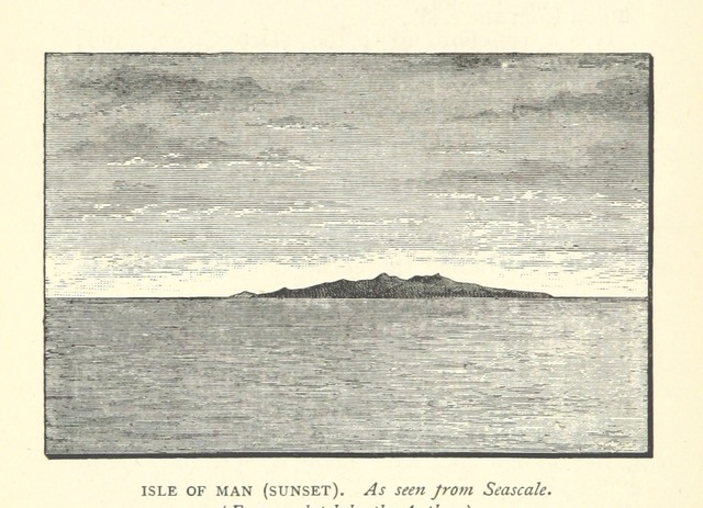 """Isle of Man from """"Mountain Ascents in Westmoreland and Cumberland"""""""