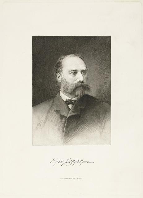 Portret van de arts Johann Georg Mezger
