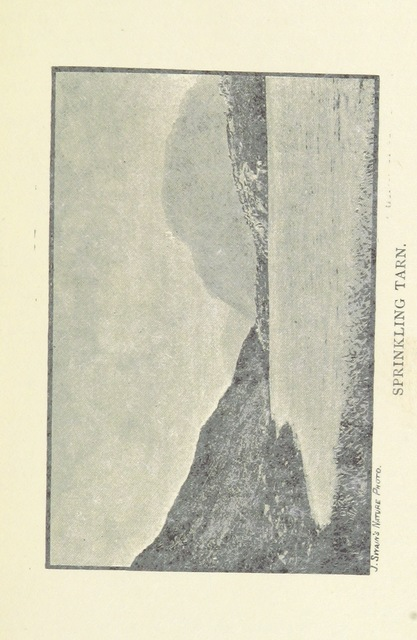 """Sprinkling Tarn from """"A Practical Guide to the English Lake District for the use of pedestrians"""""""