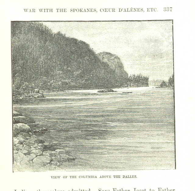 """Washington State from """"Massacres of the Mountains. A history of the Indian wars of the Far West ... Illustrated"""""""
