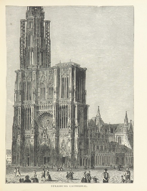 "Strasbourg from ""Three Vassar Girls on the Rhine. A holiday trip ... Illustrated, etc"""