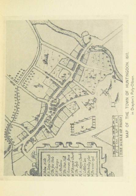 """map from """"Legends and traditions of Huntingdonshire ... Illustrated, etc"""""""