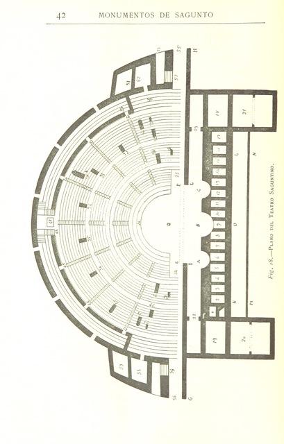 """map from """"Sagunto. Su historia y sus monumentos, etc. [With plates.]"""""""