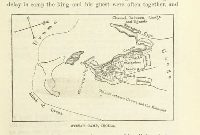"""map from """"The Boy Travellers on the Congo. Adventures of two youths in a journey with H. M. Stanley """"through the Dark Continent."""" [A condensation, with fictitious adjuncts, of H. M. Stanley's """"Through the Dark Continent,"""" with copious extracts from the original.] By T. W. Knot ... Illustrated"""""""