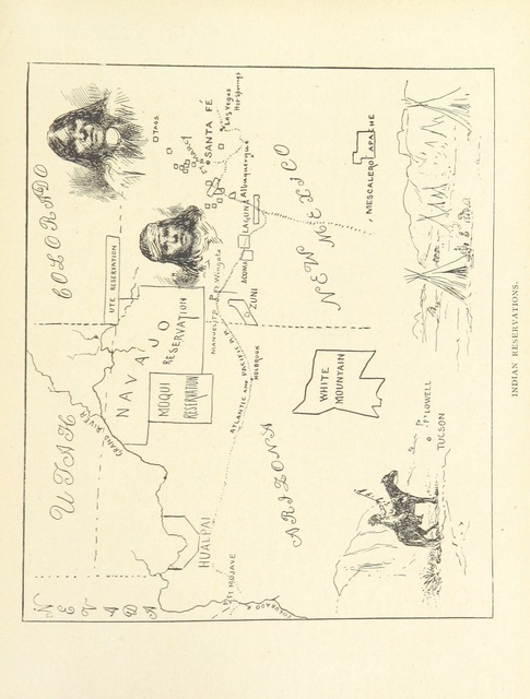 "map from ""Three Vassar Girls at Home. A holiday trip of three college girls through the South and West ... Illustrated, etc"""