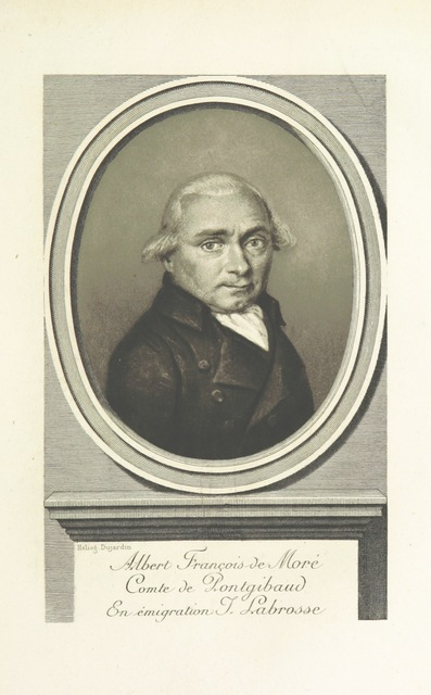 """portrait from """"Histoire de cent ans. Pontgibaud, la ville, le château, et la famille"""""""