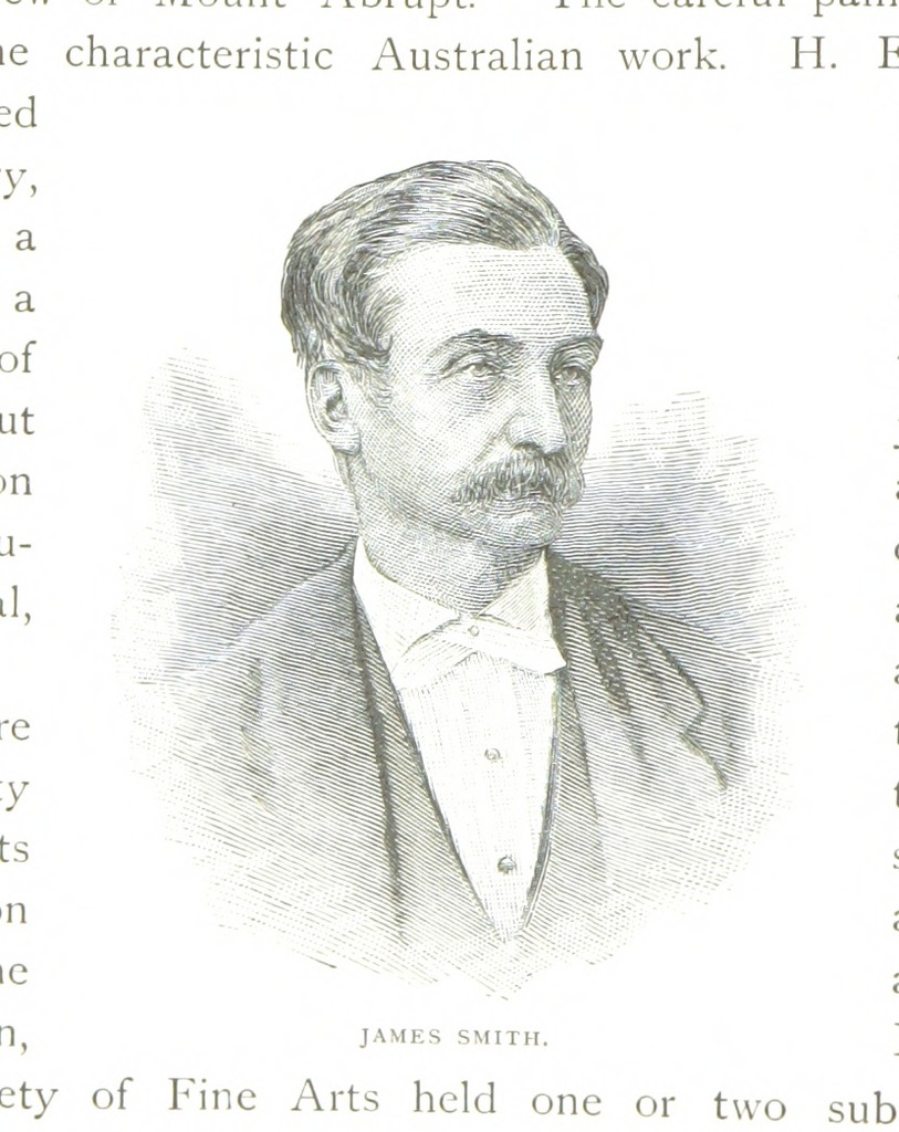 """portrait from """"Victoria and its Metropolis, past and present. [Vol. 1 by A. Sutherland; vol. 2 by various authors. Illustrated.]"""""""