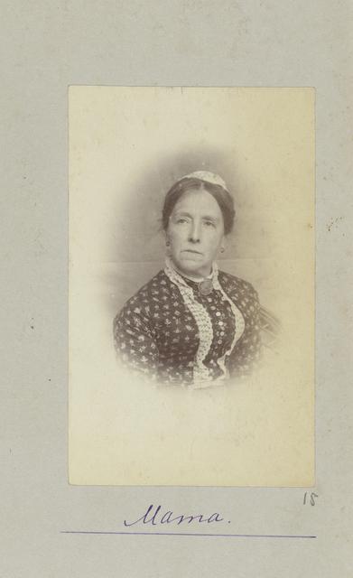 Portret van Aletta Cornelia Anna Voombergh, getrouwd Pauw van Wieldrecht