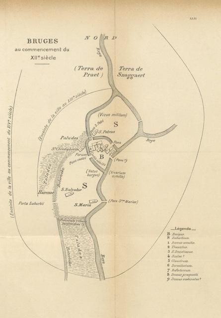 """map from """"Les Grands traités de la guerre de cent ans, publiés par E. Cosneau"""""""