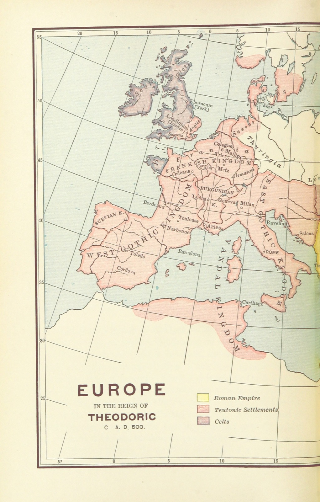 Map Of France Facts.Map From The Leading Facts Of French History Picryl Public