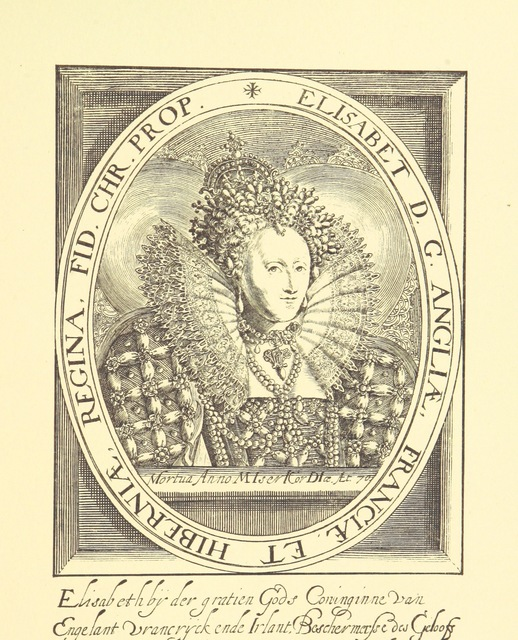 """portrait from """"Illustrations of Scottish History. Sixteenth Century. Letters and documents of Queen Mary, Queen Elizabeth, James VI., Bothwell ... Edited and arranged, with notes, by M. W. L.P"""""""