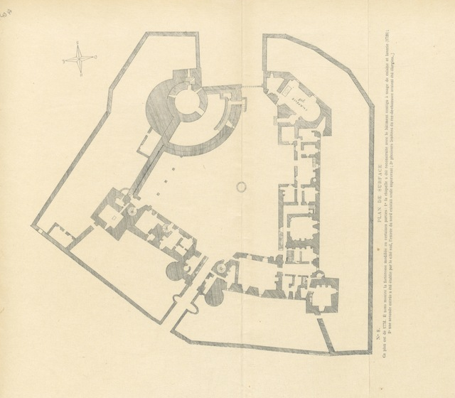 """map from """"Notice historique sur la Chatellenie d'Auneau, Eure-et-Loir, erigée en Baronnie en 1603"""""""