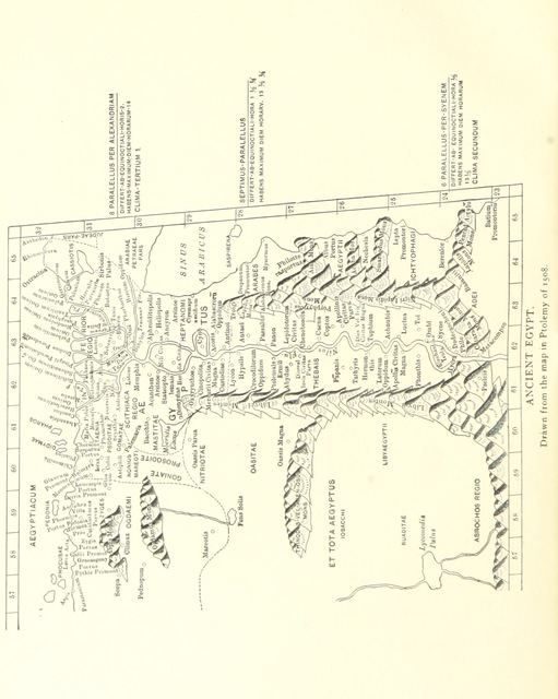 """map from """"The Raiyān Moeris. (The substance of an address before the Amer. Geog. Soc., Nov. 11, 1889.) [With 4 maps.]"""""""