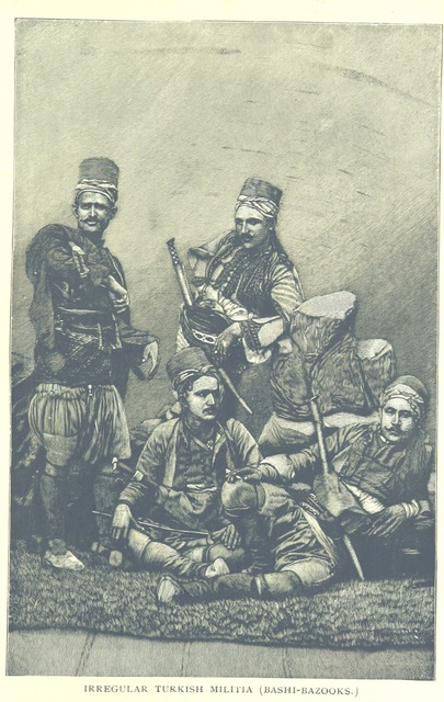 "militia from ""Social and Religious Life in the Orient, etc. [With plates, including a portrait.]"""