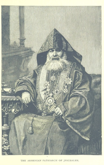 "portrait from ""Social and Religious Life in the Orient, etc. [With plates, including a portrait.]"""
