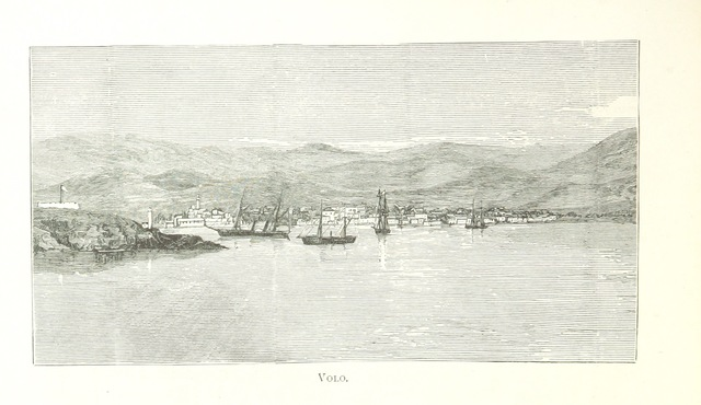 """Volos from """"Greek Pictures, drawn with pen and pencil"""""""