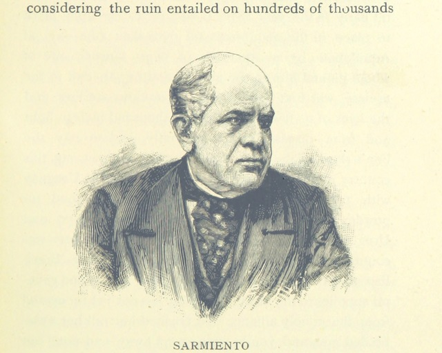 "7th President of Argentina from """"The Land we Live in."" History of the Argentine Republic from the landing of Solis until the present day ... Illustrated"""