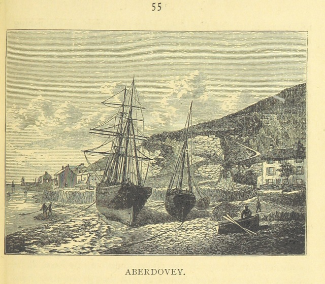 "Aberdovey from ""[Picturesque Wales: a handbook of scenery accessible from the Cambrian Railways, etc.]"""
