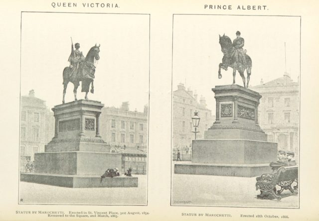 "Carlo Marochetti (scullptor) from ""George Square, Glasgow; and the lives of those whom its statues commemorate, etc"""