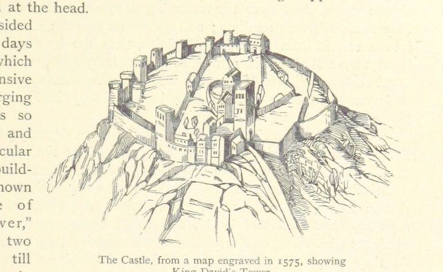 """Edinburgh Castle from """"Memorials of Edinburgh in the olden time. Second edition"""""""