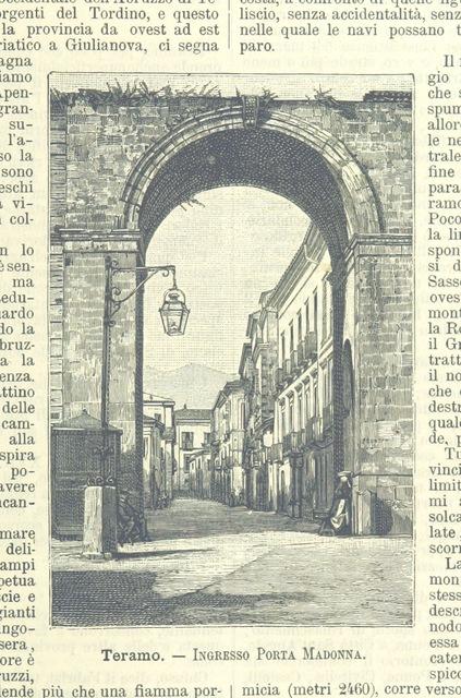"""engraving from """"L'Italia geografica illustrata, etc"""""""