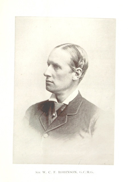 """Governor of Western Australia from """"Western Australia in 1891. By Francis Hart. [With maps and plates.]"""""""