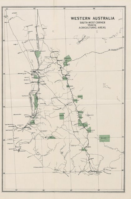 """map from """"Western Australia in 1891. By Francis Hart. [With maps and plates.]"""""""