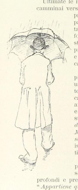 """pedestrian from """"Verbanine. Lettere di Apostolo Zero, pellegrino di commercio e amore, trovate [or rather, written?] da G. Faldella, ed illustrate da G. Ricci"""""""