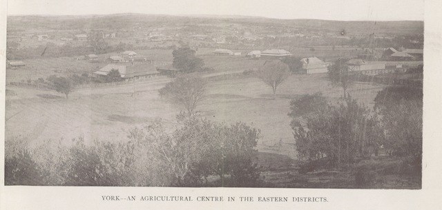 """York from """"Western Australia in 1891. By Francis Hart. [With maps and plates.]"""""""