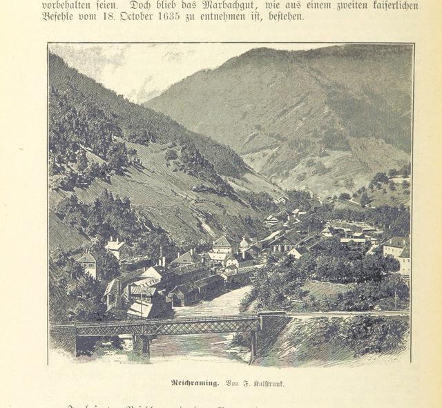 """Austria from """"Heiṃatkunde von Steyr, etc"""""""