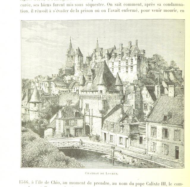 """Indre River from """"La France pittoresque. Ouvrage illustré, etc"""""""