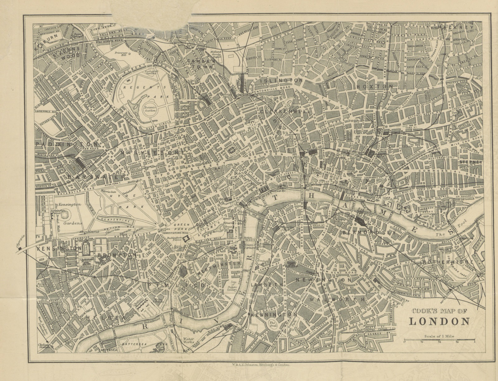 London 1600 Map.Map From Cook S Handbook For London With Two Maps Picryl