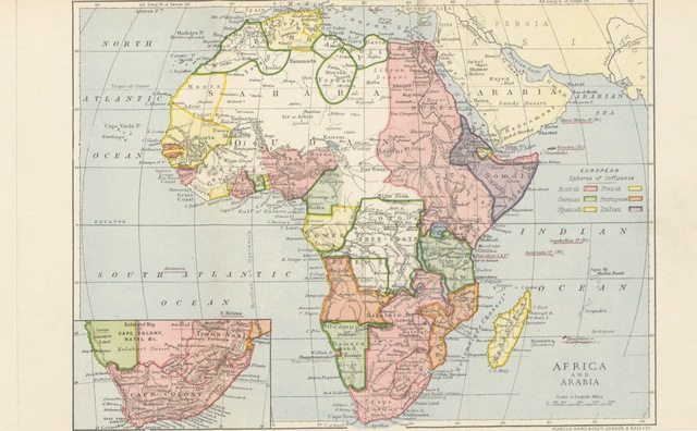 """map from """"Heroes of South African Discovery ... Fourth edition"""""""