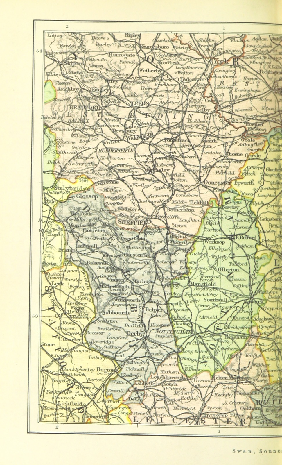 Geography Map Of England.Map From Home Geography Of England And Wales With Maps Etc