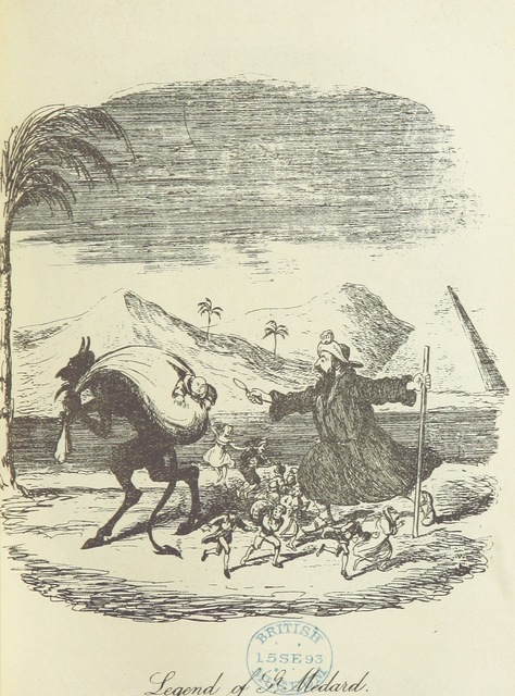 """Medardus from """"[The Ingoldsby Legends ... With sixty illustrations by George Cruikshank, John Leech, and John Tenniel.]"""""""